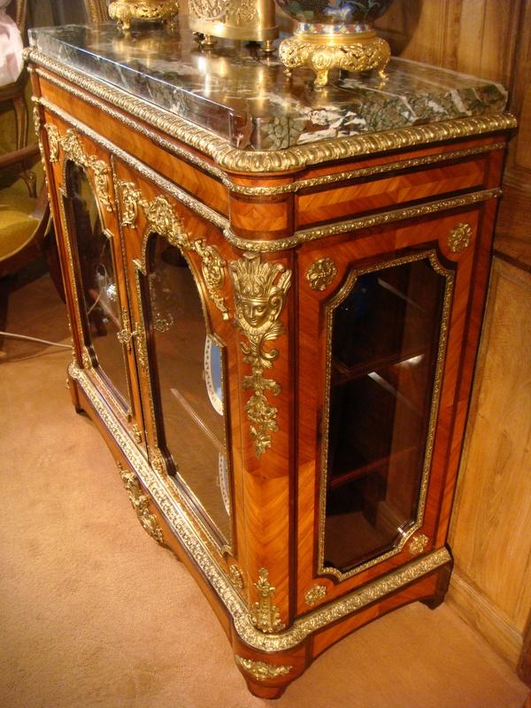 meuble vitrine hauteur d 39 appui remparts antiquit s. Black Bedroom Furniture Sets. Home Design Ideas