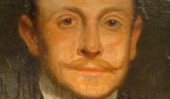 GRAND PORTRAIT D'HOMME BRADFORD JOHNSON 1902