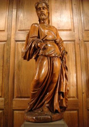 GRANDE SCULPTURE SAINT JEAN BAPTISTE EPOQUE DEBUT XVIII ème