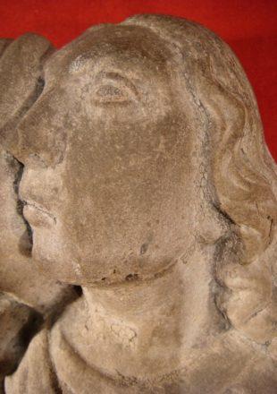 SAINT JEAN DE CALVAIRE SCULPTURE EN PIERRE XVIIéme SIECLE