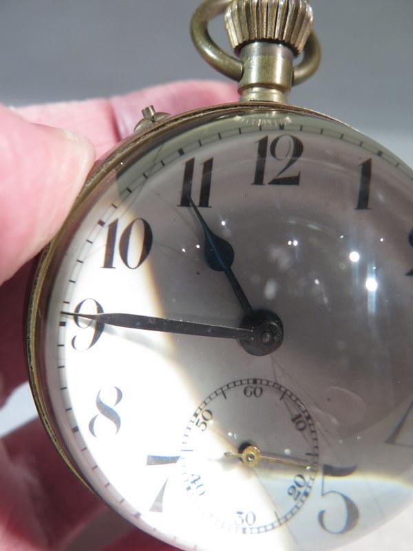 ancienne montre gousset boule loupe de bureau a poser. Black Bedroom Furniture Sets. Home Design Ideas